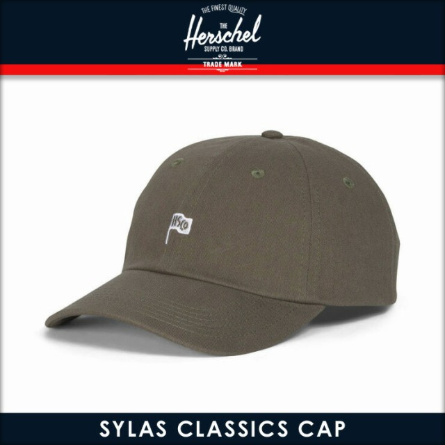 ハーシェル Herschel Supply 正規販売店 帽子 キャップ SYLAS CAP CLASSICS 1059-0413-OS DARK PEWTER