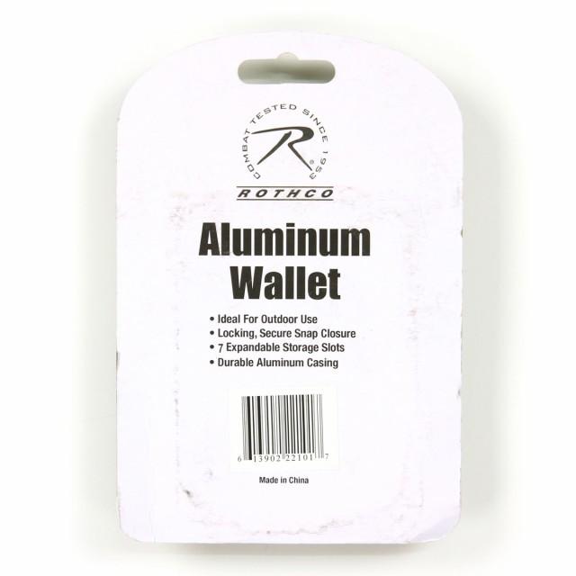 ロスコ ROTHCO 正規品 メンズ アルミニウムウォレット WOODLAND CAMO ALUMINUM WALLET 22100