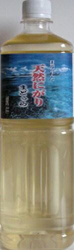 ★天然にがり まどぅら1000ml★濃度約30Be/ジャワ海に浮かぶマドゥラ島で天日塩が出来た後に残った母液(濃縮された海水)が「天然に