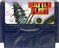 ▲【クリックポスト6個まで164円】FC ファミコン ナムコ バトルフリート シミュレーションゲーム h-g-fc-706【中古】