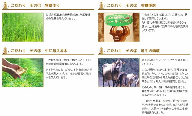 【送料無料】(ジャージー牛乳) (低温殺菌牛乳)白木牧場の特別牛乳 720ml×3本セット ※発送まで2週間程お時間いただいております。