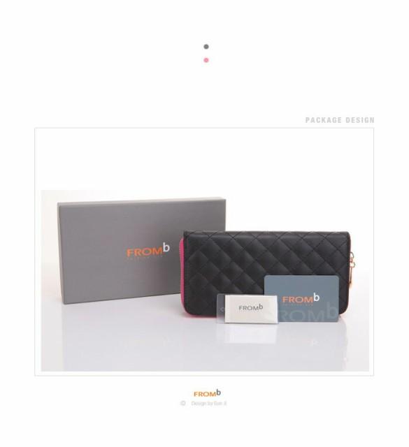 462f161916fa 【FROMB レディース 長財布】 かわいい 財布 FROMB 本革 財布 長財布 札入れ 可愛い