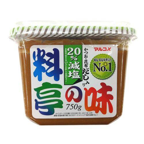 マルコメ 塩料亭の味 750g×8入