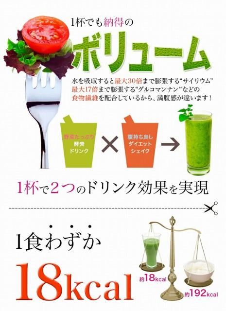 1食わずか18キロカロリー