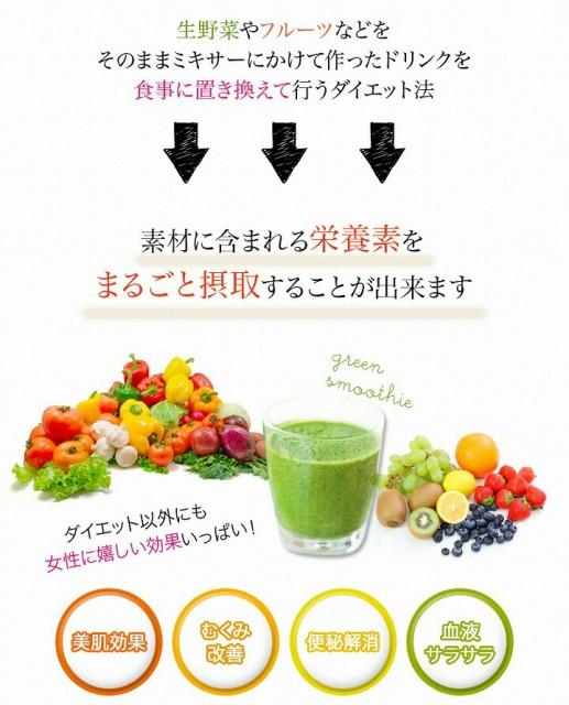 素材に含まれる栄養素をまるごと摂取