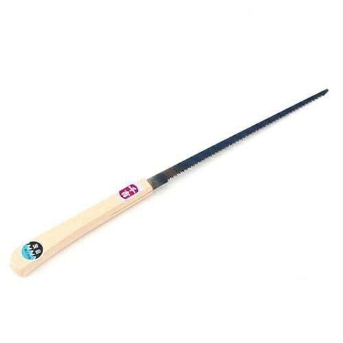 千吉・挽廻鋸‐直柄・210MM・大工道具・鋸・挽廻鋸・DIYツールの画像