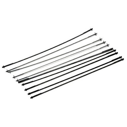 Y−SK11・糸のこ用替刃‐木工用‐中目・10PCS・大工道具・鋸・糸のこ・DIYツールの画像