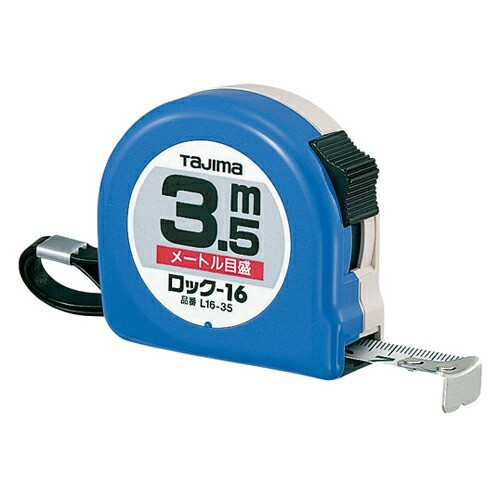 タジマ・ロック−16‐3.5M・L16-35BL・大工道具・測定具・タジマコンベ・DIYツールの画像