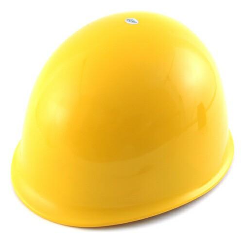TOYO・ヘルメット薄黄・NO.110・先端工具・保護具・安全用品・TOYO製品・DIYツールの画像