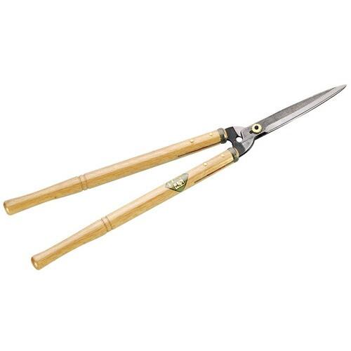 ニシガキ・刈吉‐金‐長柄刈込鋏180・N-364・園芸道具・刈込鋏・木柄・DIYツールの画像