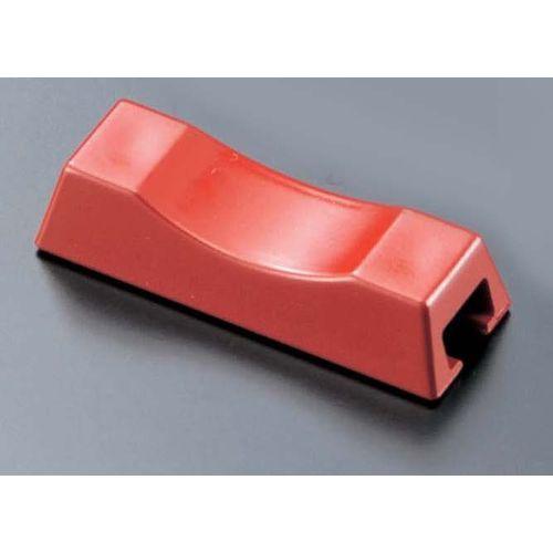 マイン ABS箸置き 四角用(10個入) 朱赤 M10-982 PHSE202
