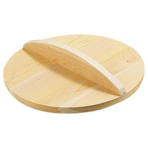 雅うるし工芸 厚手サワラ木蓋 (鉄餃子鍋42cm用) 45cm用 AKB02045