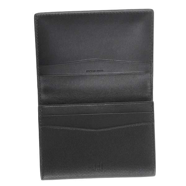 ダンヒル DUNHILL カードケース L2AE47A TURN BUSINESS CARD CASE BLACK BK【送料無料】
