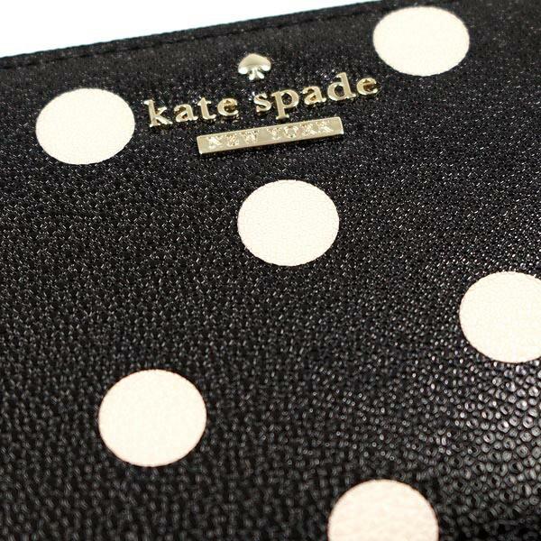 ケイトスペード KATE SPADE 長財布 長札 PWRU3913 LACEY BLACK/DECO BEIGE BK【送料無料】
