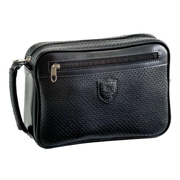 ブレザークラブ パンチング合皮シリーズ セカンドバッグ 2574601 ブラック 国内正規