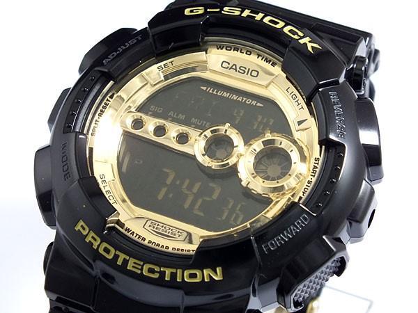 a25e62ee81 カシオ CASIO Gショック G-SHOCK 高輝度LED 腕時計 GD100GB-1【送料無料 ...