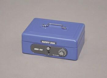 アイリスオーヤマ 手提げ金庫 SBX-A6 手提げ金庫 ブルー SBX-A6(代引き不可)