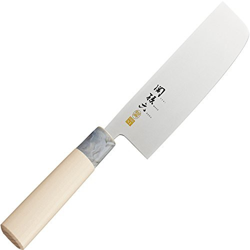 貝印 関孫六 銀寿 ステンレス 和包丁 菜切 165mm AK-5069