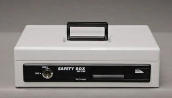 アイリスオーヤマ 手提げ金庫 SBX-A5S 手提げ金庫 グレー SBX-A5S(代引き不可)