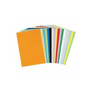 (まとめ買い)北越製紙 やよいカラー 4ツ切 くりいろ 100枚 【×2セット】