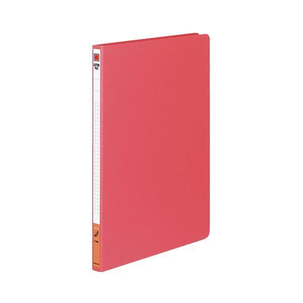 (まとめ) コクヨ レターファイル(色厚板紙) A4タテ 120枚収容 背幅20mm 赤 フ-550R 1冊 【×20セット】