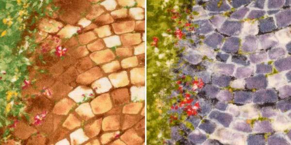 廊下敷き 廊下マット 65cm×340cm【遊歩道】カーペット ロングカーペット 洗える ウォッシャブル(代引不可)【送料無料】