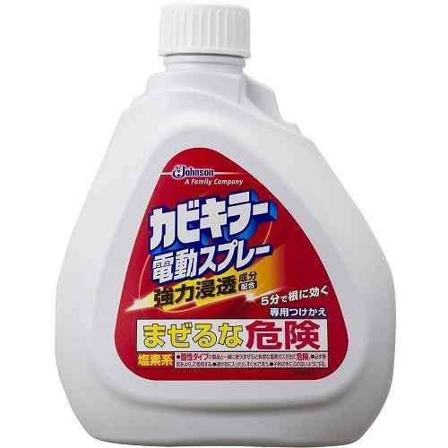 ジョンソン カビキラー電動スプレー 付替え 750g 【カビ取り剤】