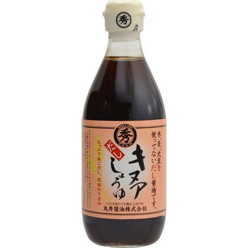 丸秀醤油 キヌアだし醤油 360ml P06Dec14