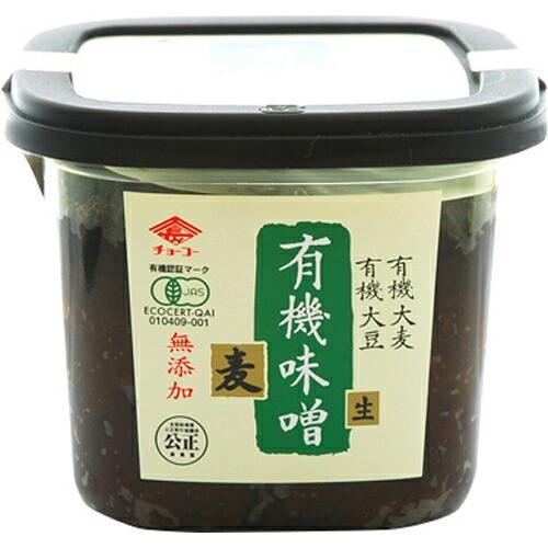 チョーコー 有機栽培麦みそ 500g チョーコー醤油