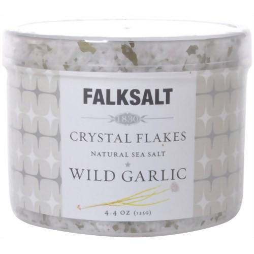 FALKSALT 地中海クリスタルフレークスソルト ワイルド・ガーリック 125g