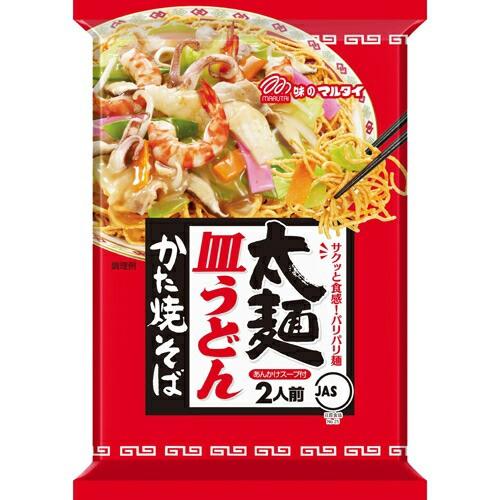 【ケース販売】マルタイ 太麺皿うどん 151g×12個