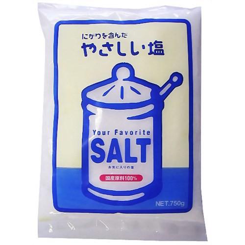 やさしい塩 750g 関東塩業