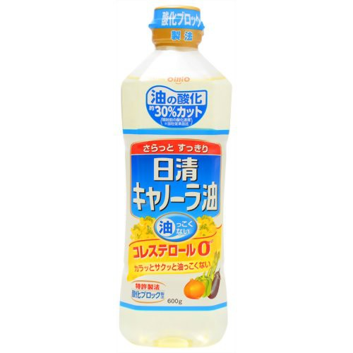 日清 キャノーラ油 600g 日清オイリオグループ