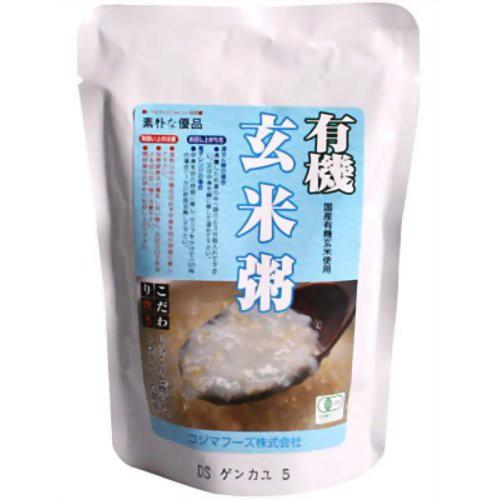 コジマフーズ 有機玄米粥 200g P06Dec14