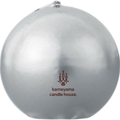 メタリックボール60 シルバー カメヤマキャンドルハウス P06Dec14