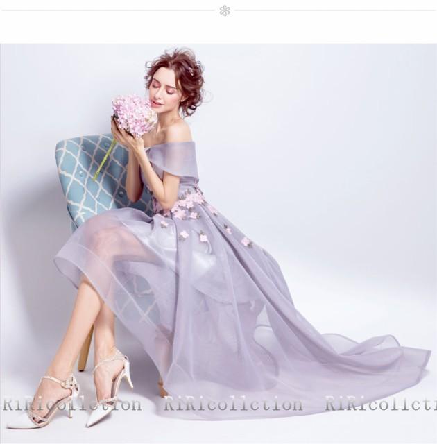 ウェディングドレス  ドレス 花びら 春 櫻ピンク ピンク カラードレス 結婚式 披露宴 刺繍/ プリンセスライン/ミニドレス/二次