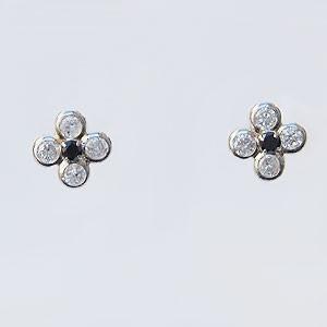 パール:ピアス:あこや本真珠:8mm-8.5mm:アコヤ:ダイヤモンド:ブラックダイヤモンド:0.60ct:プラチナ:PT900