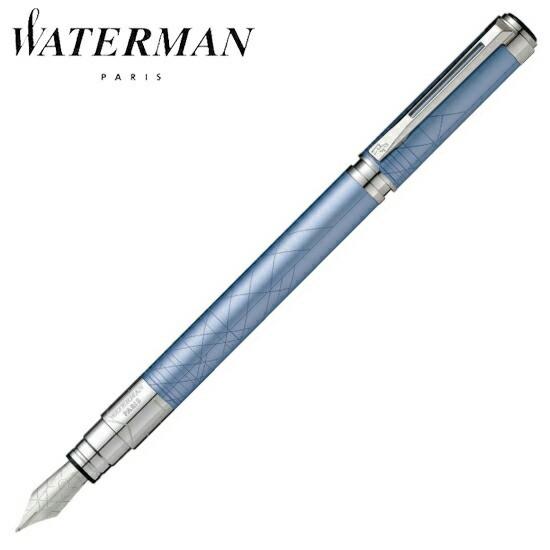 ウォーターマン 筆記用具 万年筆 パースペクティブ デコレーション ブルーCT M S2236133