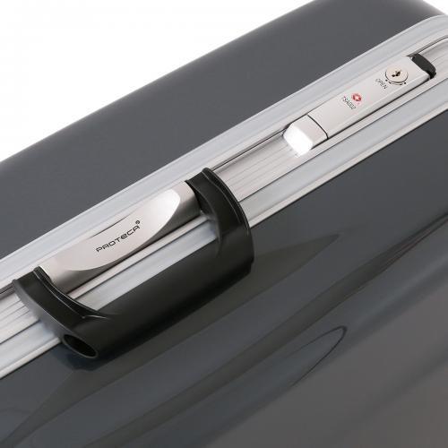 スーツケース レンタル 送料無料 TSAロック≪20日間プラン≫プロテカ レクト Proteca Rect 00542 (5~10泊:Lサイズ:75cm/80L)トランクレ