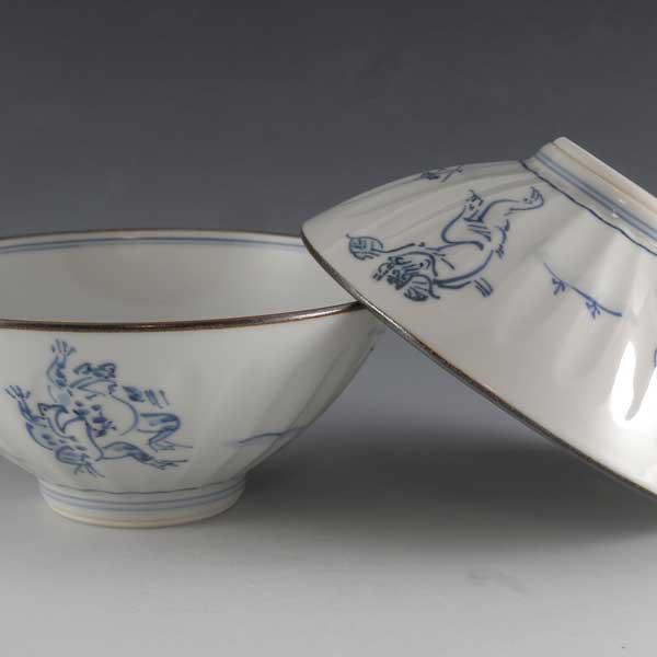 【送料無料】 京焼 清水焼 夫婦茶碗 組飯碗 2客セット ご飯茶碗 高山寺