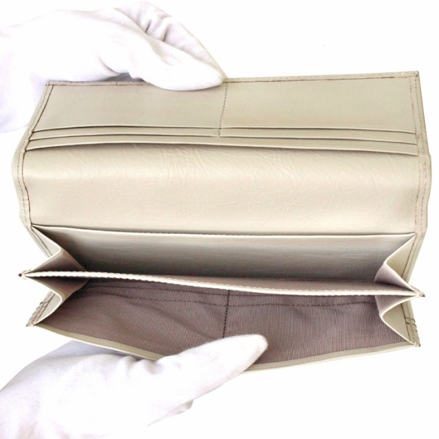 15e961376745 LARA Christie ララクリスティー バルセロナ ロングウォレット ( 長財布 ) ミーリングレザー [ White Label ] 送料無料  父の日