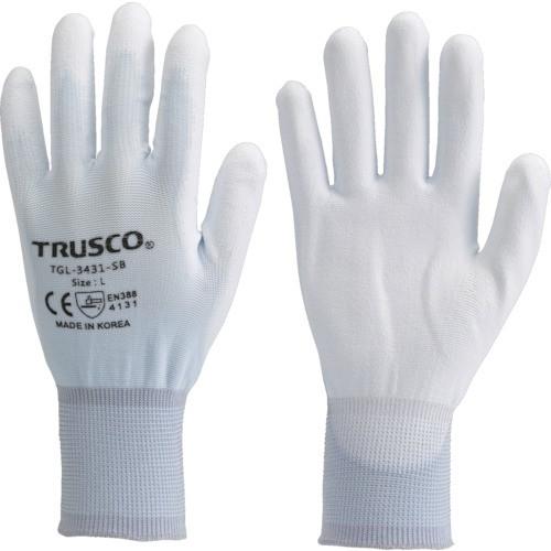 トラスコ中山  【送料無料】 TGL3431SBS TRUSCO カラーナイロン手袋PU手のひらコート スカイブルー S 【新品・税込】
