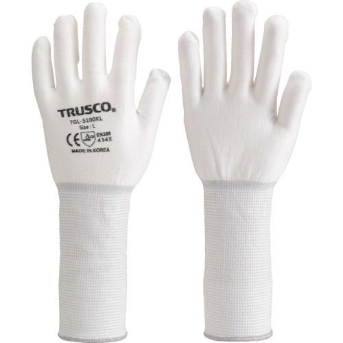 トラスコ中山  【送料無料】 TGL5100KLM TRUSCO ホワイトHPPEインナー手袋ロング M 【新品・税込】