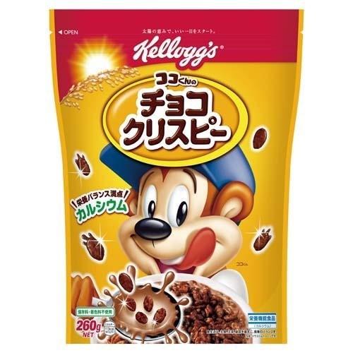 日本ケロッグ  【送料無料】 E532193H ケロッグ ココくんのチョコクリスピー 袋 260g 【新品・税込】