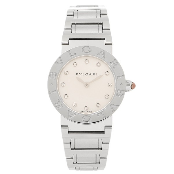 save off d2647 f1147 ブルガリ 時計 レディース BVLGARI BBL26WSS/12 ブルガリブルガリ 腕時計 ウォッチ シルバー/ホワイトパール|au  Wowma!(ワウマ)