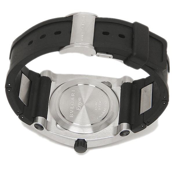 size 40 423ad 90947 BVLGARI ブルガリ エルゴン オートマチックラバー ブラック&シルバー/カーボンブラック メンズ EG40BSVD 腕時計 シリアル|au  Wowma!(ワウマ)