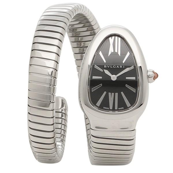 5c88c1382103 ブルガリ 腕時計 レディース BVLGARI SP35BSS.1T/L ブラック シルバーの ...