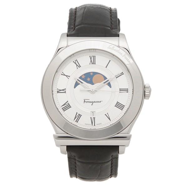 買得 【返品OK】フェラガモ 腕時計 メンズ Salvatore Ferragamo FBG090016 42MM ブラック シルバー, 葉山町 52b0d4ba