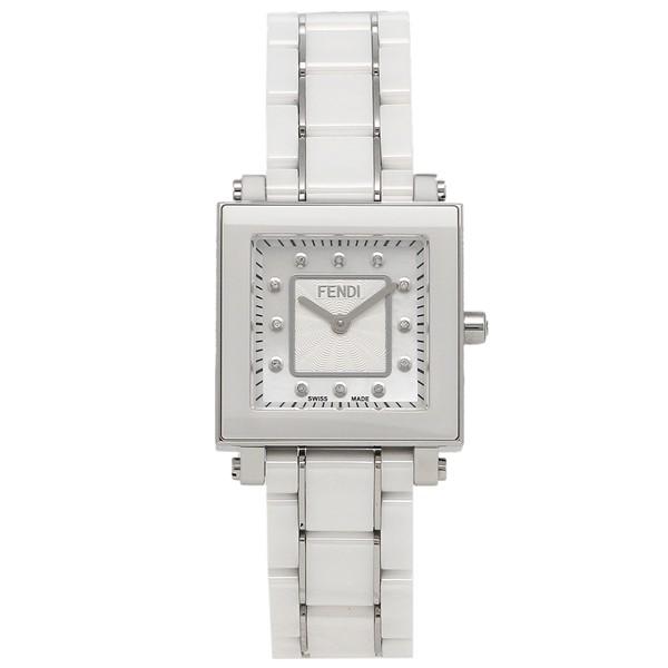 【オープニング 大放出セール】 フェンディ 腕時計 レディース FENDI F622240BD ホワイトパール ホワイト シルバー, カバー専門エール公式ショップ 6e5f544b