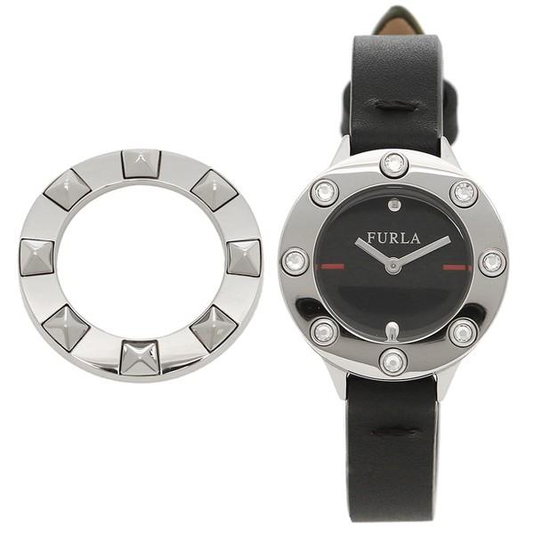 751db4137362 フルラ 腕時計 レディース FURLA 976433 R4251116505 O60 ブラック シルバー